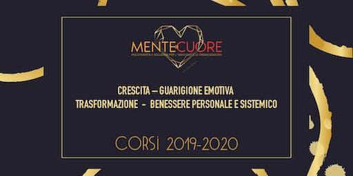 CRESCITA – GUARIGIONE EMOTIVA – TRASFORMAZIONE  -  BENESERE PERSONALE E SISTEMICO  Presentazione Attivita' 2019-2020