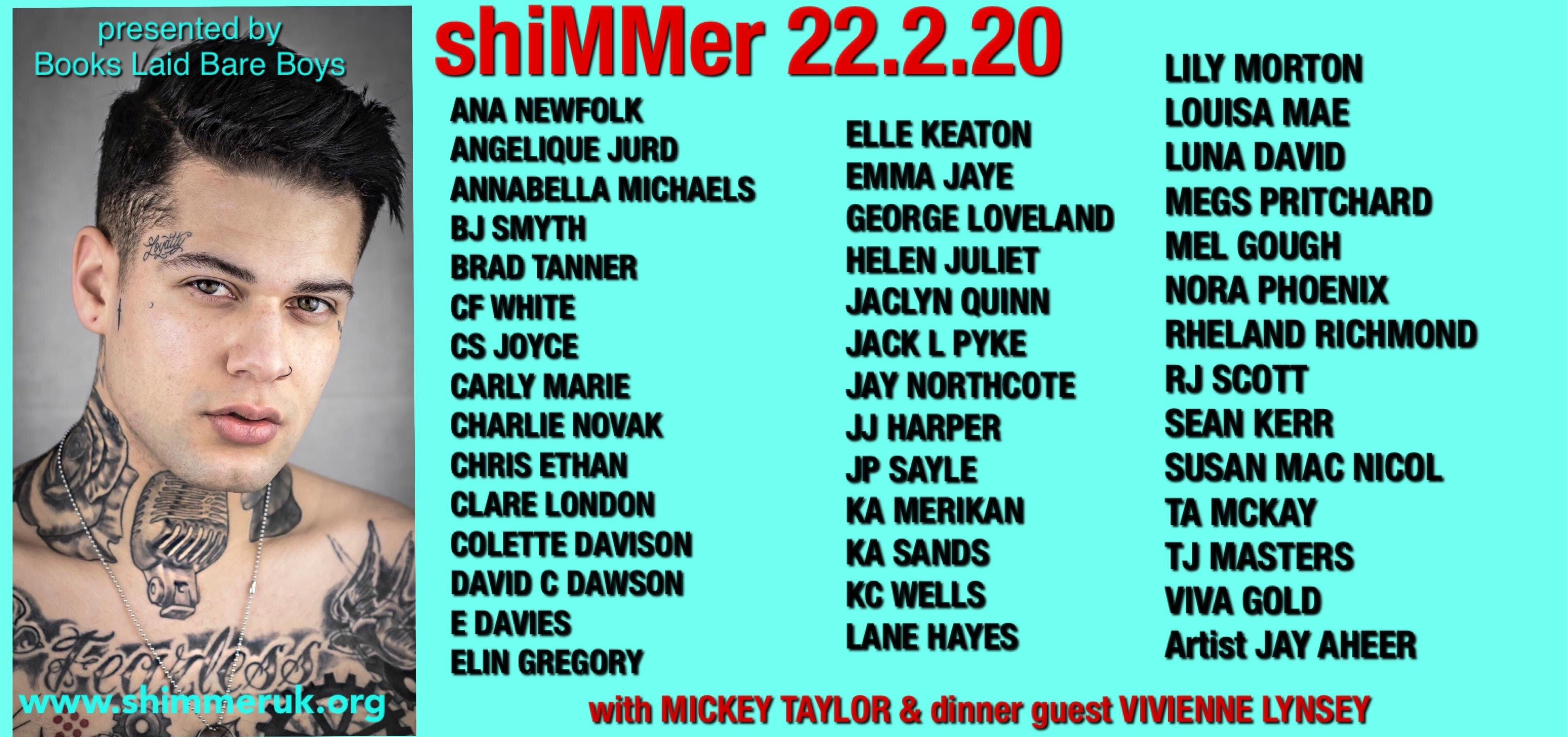 Romance Author Signing Events 2020.Shimmer 2020 Mm Uk Author Event