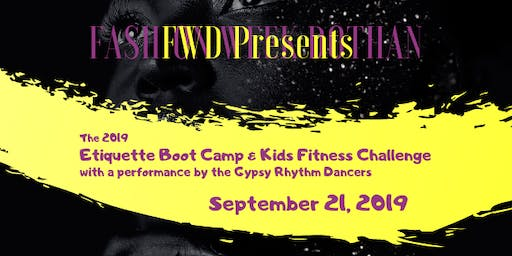 Fashion Week Dothan's Etiquette Boot Camp and Fitness Challenge for Kids (ages 7-17)