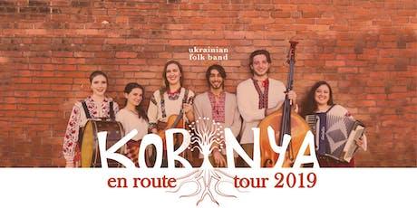 KORINYA: 6 member Ukrainian Folk Band from NYC tickets