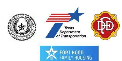 JOBS Texas Department of Criminal Justice, Dallas FD,TXDOT,FHFH
