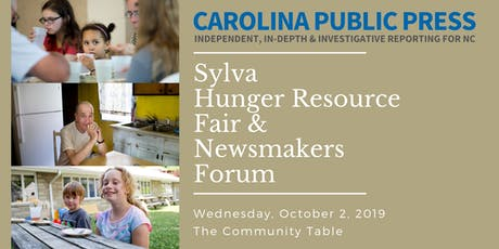 Sylva Hunger Resource Fair & Newsmakers Forum tickets