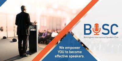 Birmingham International Speakers Club