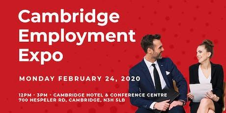Job Fair | Cambridge Employment Expo tickets