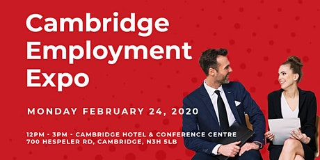Job Fair | Cambridge Employment Expo tickets