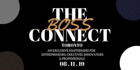 "The ""Boss"" Connect"" tickets"
