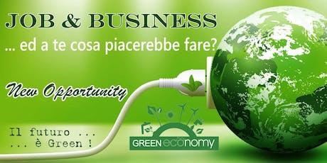 Seminario aperto al pubblico : Green Economy New Opportunity biglietti