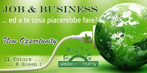 Seminario aperto al pubblico : Green Economy New Opportunity