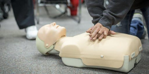 October 19, 2019: HeartSaver® First Aid CPR AED with Patterson District Ambulance