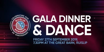 50th Anniversary Gala Dinner & Dance