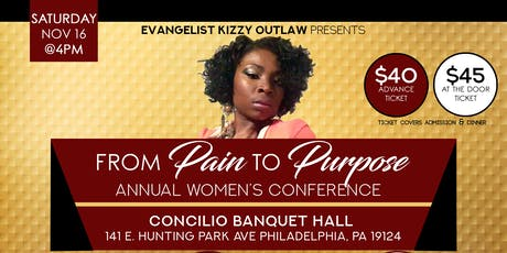 From pain to Purpose Annual Women's Conference tickets
