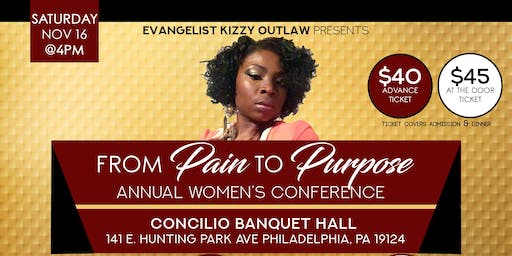 From pain to Purpose Annual Women's Conference