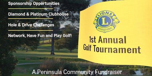 Millbrae Lion's 1st Annual  Charity Golf Tournament