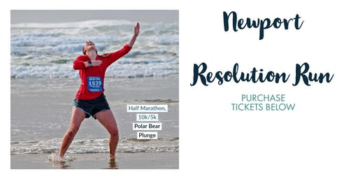 Newport Resolution Run & Polar Bear Plunge