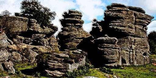 Archaeology of Brimham Rocks - Trip with Thornton le Street History group