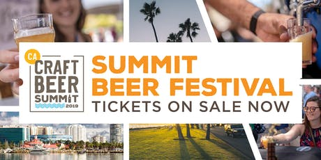 Summit Beer Festival,Long Beach- September 14, 2019 tickets