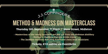 Method & Madness Gin Masterclass tickets