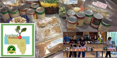 Heartland Rooted's Whole Food Plant Based Hy-Vee Simple Fix Meal Prep tickets