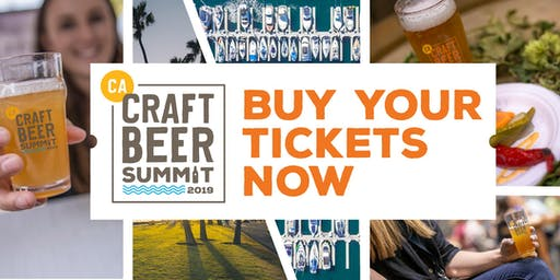 California Craft Beer Summit Expo- September 12-14, 2019