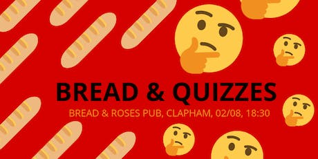 Bread & Quizzes: LYL Pub Quiz Summer Fundraiser tickets