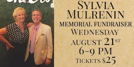 Sylvia Mulrenin Memorial Fundrasier  tickets