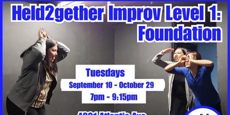 Level 1 Improv Comedy Class! tickets