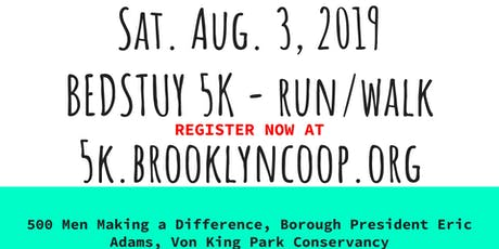 5th Annual Bed Stuy 5K Run/Walk tickets