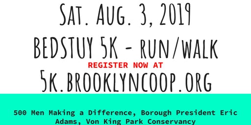 5th Annual Bed Stuy 5K Run/Walk