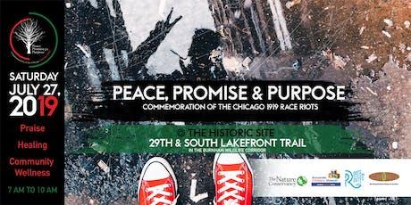 Peace, Promise & Purpose tickets