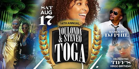 ReTurn of the  Toga 14th Annual Pool Party SteveO & Youlanda   tickets