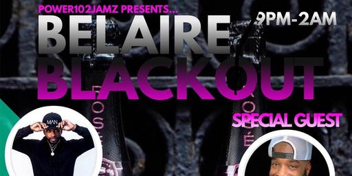Power102Jamz presents: The Belaire Blackout Party
