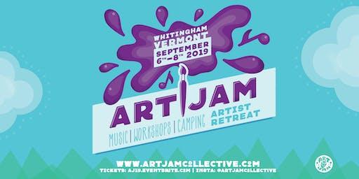 Art Jam 2019 Artist Retreat & Music Festival
