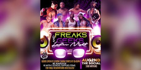 Freaks & Geeks Ladies Night Out tickets
