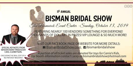 2019 Bisman Bridal Show Tickets tickets