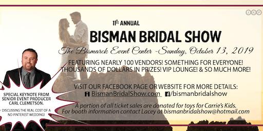 2019 Bisman Bridal Show Tickets