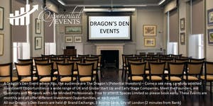 Exponential Dragon's Den & Investment Pitch Event...