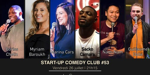 Start-up Comedy Club #53 (LA DERNIÈRE)