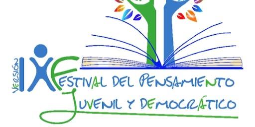 Lanzamiento FESTIVAL DEL PENSAMIENTO JUVENIL Y DEM