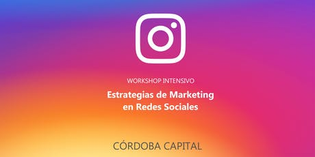 Estrategias de Marketing en Redes Sociales #Córdoba entradas