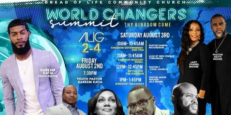 World Changers Summit 2019:Thy Kingdom Come(Youth and Young Adults Conf) tickets