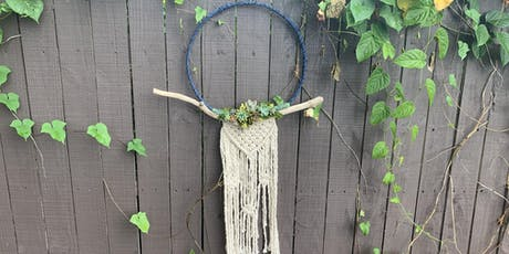 Make-N-Take: Macrame Succulent Wall Art tickets