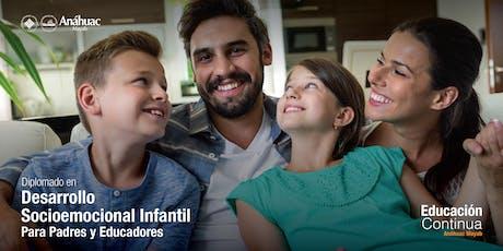 Charla Informativa - Diplomado en Desarrollo socioemocional infantil: Para padres y educadores entradas