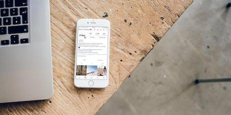 Maîtriser Instagram du bout du pouce - 1 journée / 2 dates au choix billets