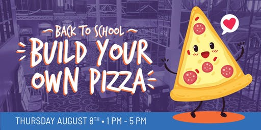 Build Your Own Pizza At Bonkers!