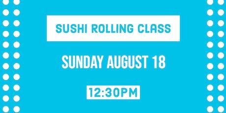 Sushi Rolling Class - Sushi Sunday Funday tickets