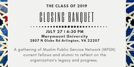 MPSN Closing Banquet tickets