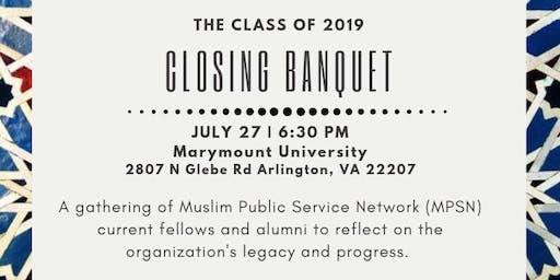 MPSN Closing Banquet
