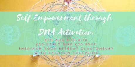 Lion's Gate Portal - Self Empowerment Through DNA Activation tickets