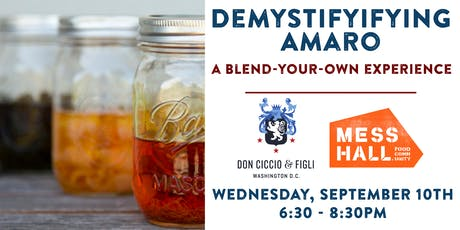 Demystifying Amaro: A Blend-Your-Own Experience tickets