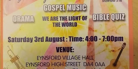Light & Good works Outreach tickets